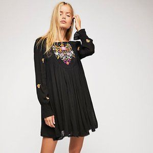 Free People Mohave Embroidered Mini Dress OB834325